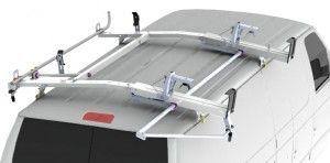 Combo Drop Down Cargo Van Ladder Rack