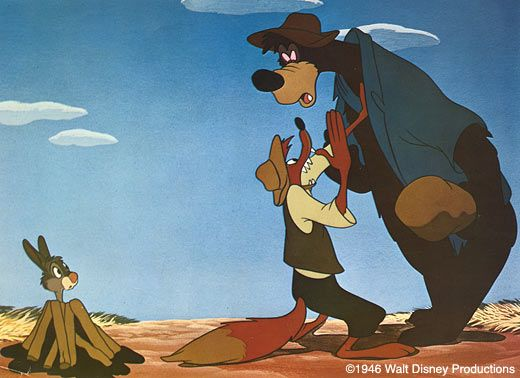 """Brer Bear would simply like to knock Brer Rabbit's head """"clean off!"""""""