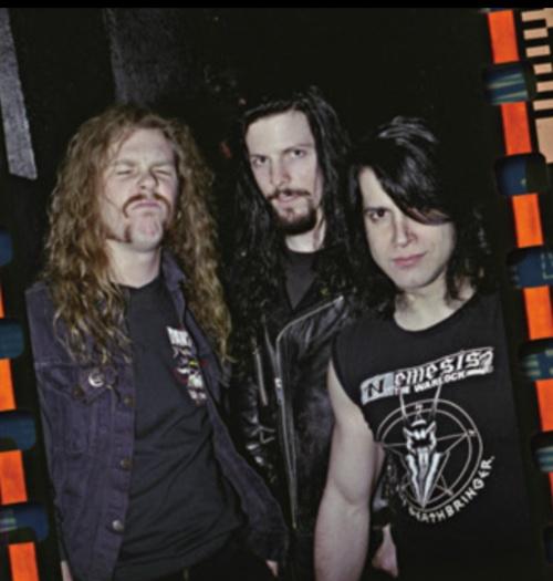 James Hetfield with John Christ and Glenn Danzig