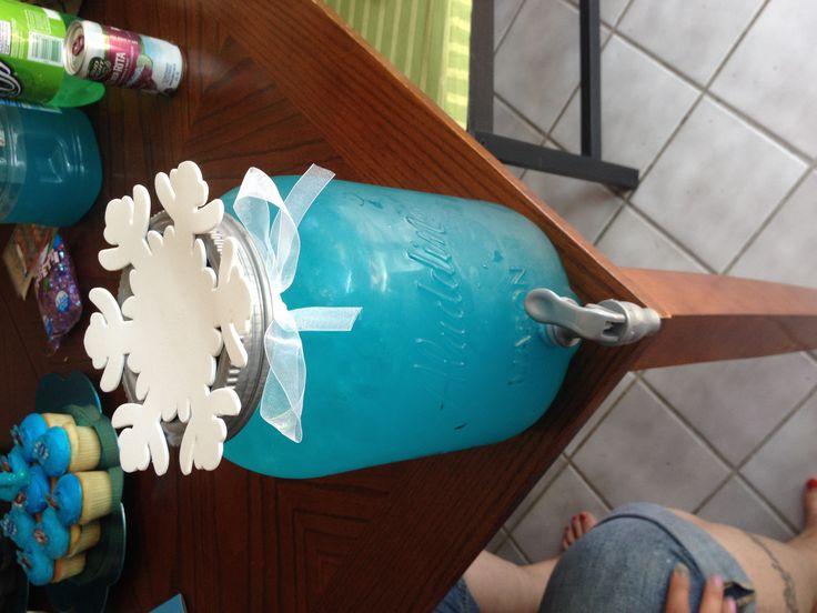 Blue Hawaiian Punch + Sprite
