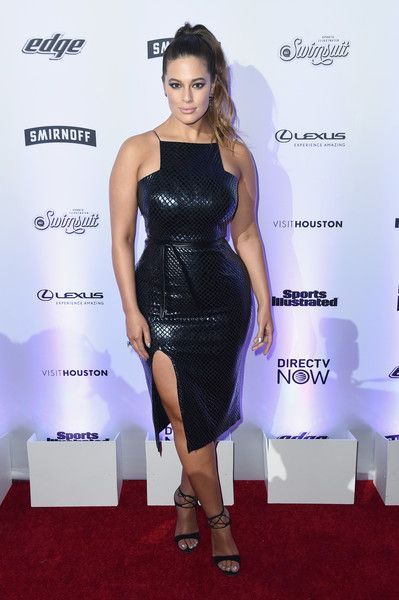 Ashley Graham - Every Look from Sports Illustrated's 2017 Swimsuit Issue Party  - Photos