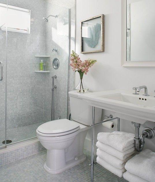 small bathroom ideas - Pinterest Small Bathrooms