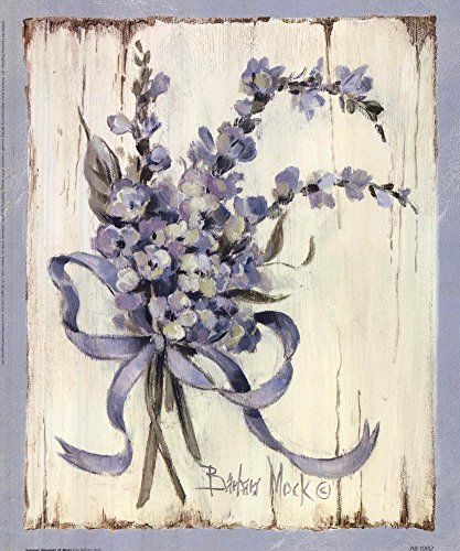 Summer Bouquet Of Blues I by Barbara Mock Art Print, Size 9 x 11 inches Great Art Now http://www.amazon.com/dp/B00OM5432A/ref=cm_sw_r_pi_dp_FVH2wb090W3PF