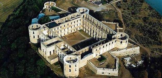The castle of Borgholm, situated on island Öland, southern Sweden.