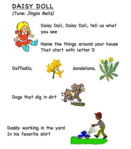 Letter song D (words by Frog Street press)... link... https://docs.google.com/leaf?id=0B8JEqYoVwlm2YjY3NjY2MzAtOWI0NS00Njc3LTg3MWEtYjIxZWExYTRjNGRi&hl;=en_US