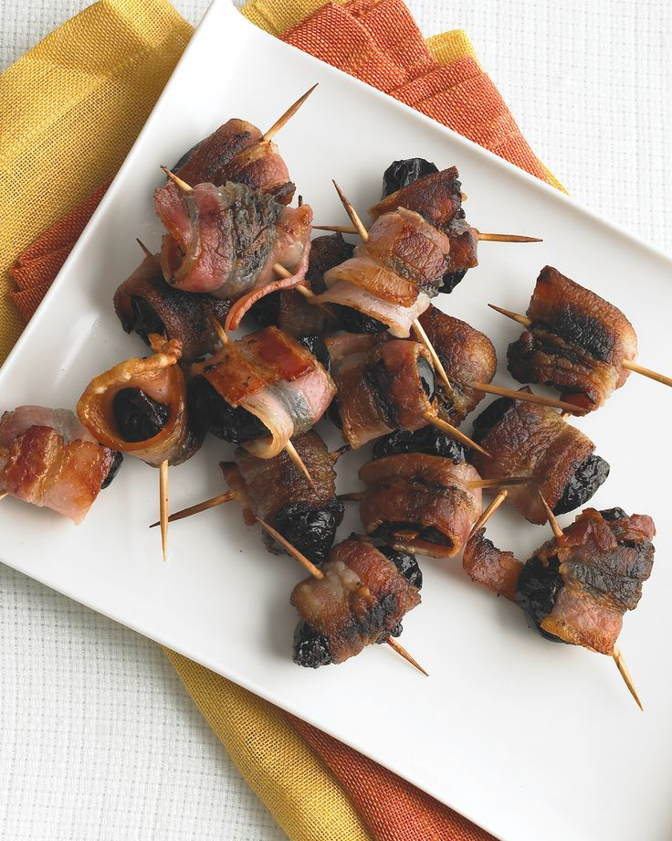 Don't let the sinister name throw you -- these sinful bacon-wrapped bites are perfect for Halloween celebrations.