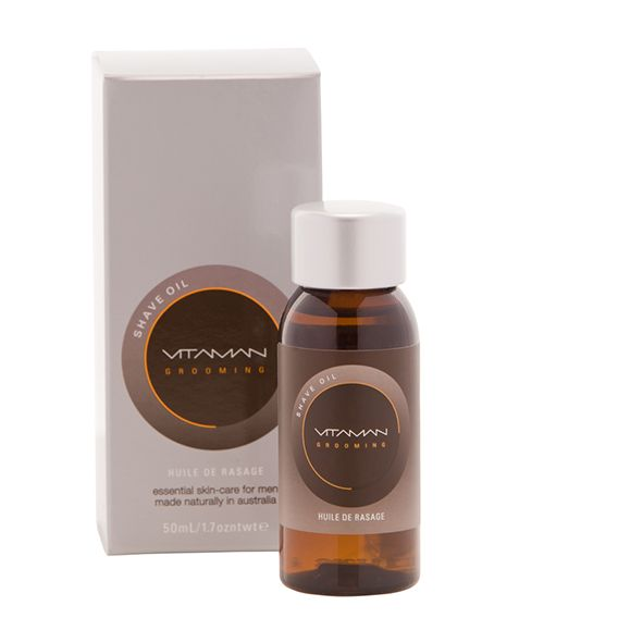 VitaMan - Shave Oil W/ Vitamin E & Jojoba Oil
