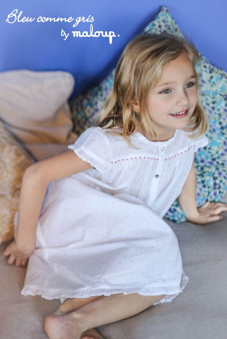 Ligne de pyjamas pour enfants Bleu comme gris by Maloup