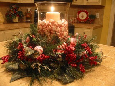 262 Best Christmas Centerpiece Ideas Images On Pinterest Christmas Decor Christmas Deco And