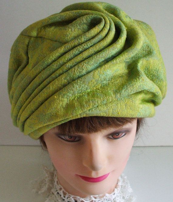 vintage turban hat from the 60s by Vronihats on Etsy, $30.00