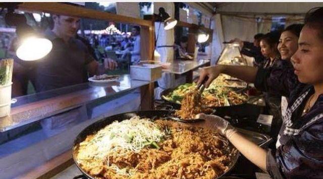 Noodle night market Melbourne.