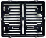 nice Motorrad Kennzeichenhalter Easy Chrom frameless 170x210mm schwarz - für österreichische Kennzeichen Check more at https://motorrad.cf/produkt/motorrad-kennzeichenhalter-easy-chrom-frameless-170x210mm-schwarz-fuer-oesterreichische-kennzeichen/