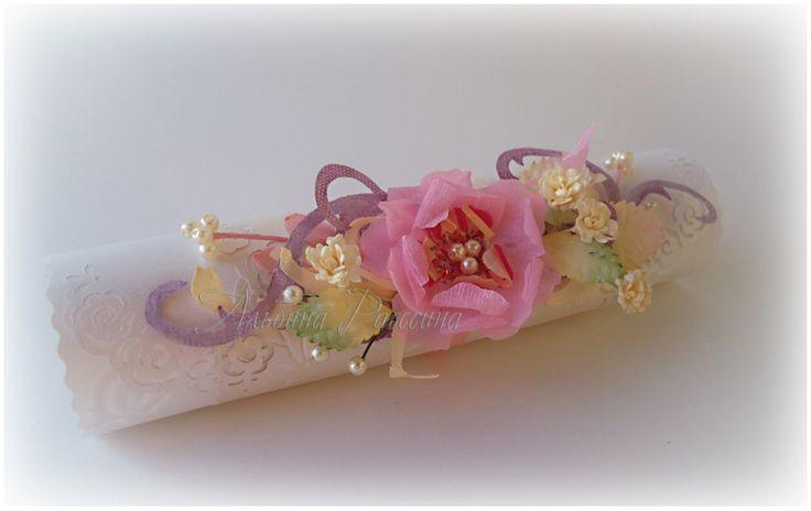 Поздравление на свитке с днём свадьбы. Что подарить на свадьбу...: На крыльях вдохновения.