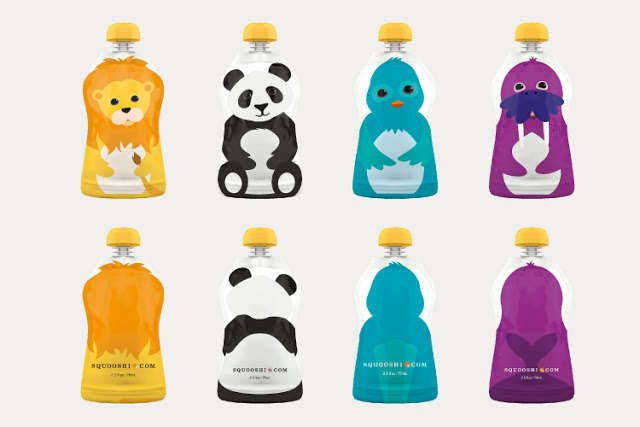 Competition: Squooshi Packaging Appeals to the Eyes, the Tummy and the Planet (GALLERY)