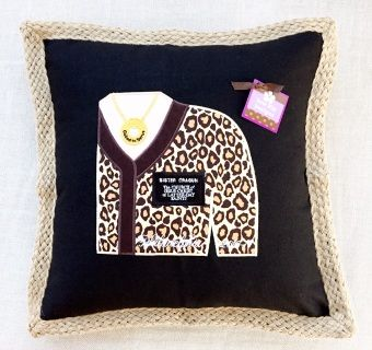 Custom LDS Sister Mission pillow cover makes the perfect farewell/homecoming, keepsake gift!  Morman Missionary