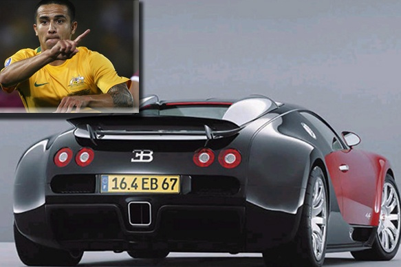 Tim Cahill - The biggest, baddest, and fastest one of them all, Bugatti's Veyron.