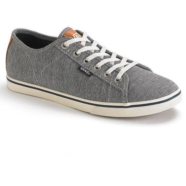 Vans Ferris Lo Pro Women's Skate Shoes ($50) ❤ liked on Polyvore featuring shoes, sneakers, lace up shoes, navy shoes, laced shoes, lace up sneakers and cream shoes