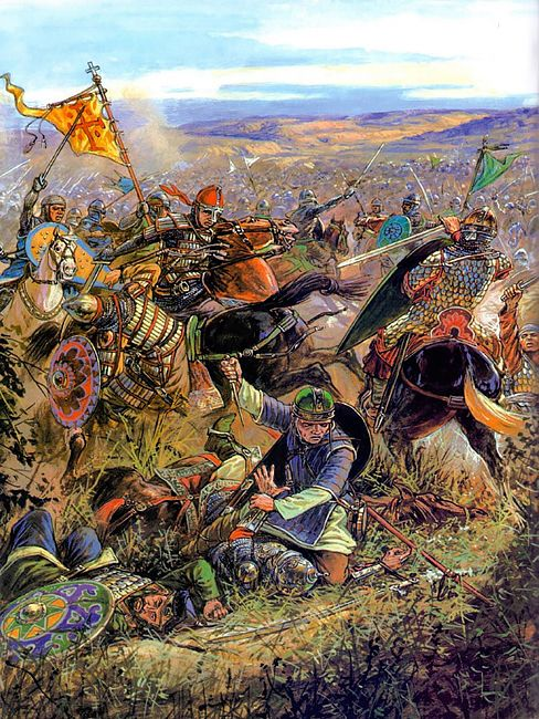 Battle of Nicaea (1097) by Igor Dzis
