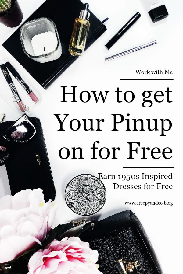 Earn Free 1950s Pinup Rockabilly Dresses and Accessories.  Host 30 minute online party.