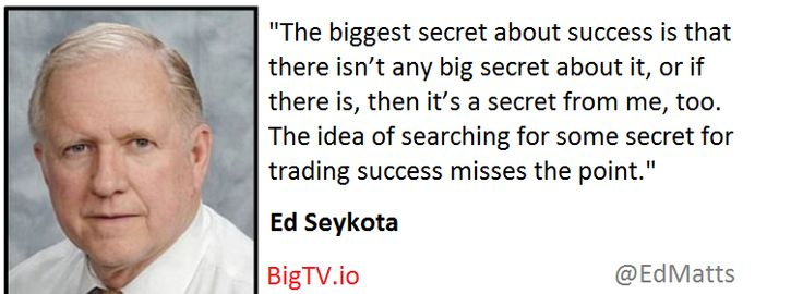 Ed Seykota .. there is no secret