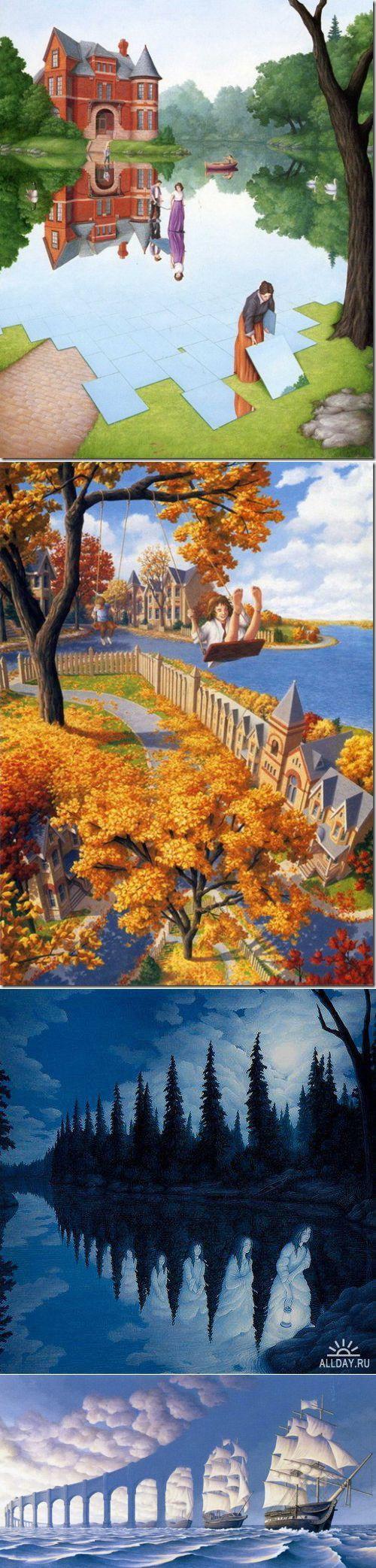 Иллюзии Роба Гонсалвеса | искусство | Постила