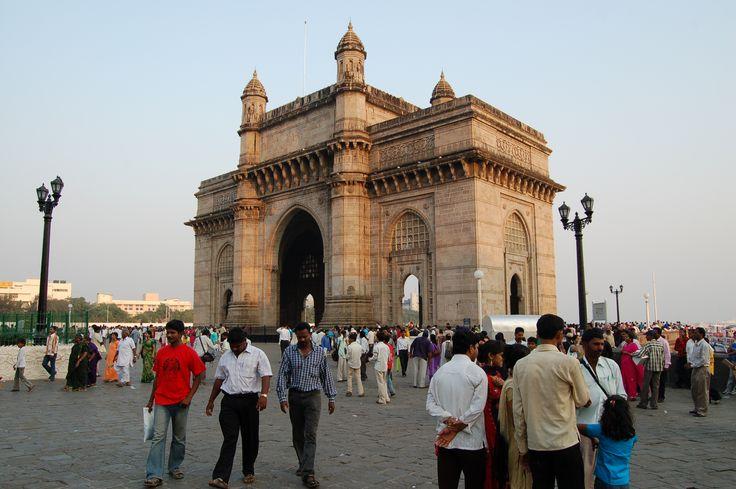 Fotografía: Juan José Cid - Puerta de la India, Mumbai