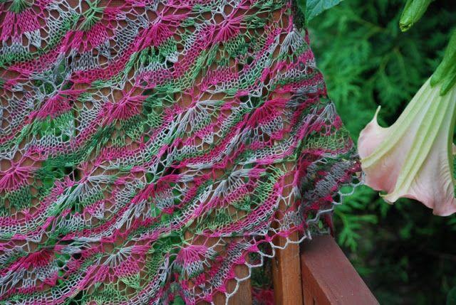 Bergamotka: Kolorowa Blooming Stitch