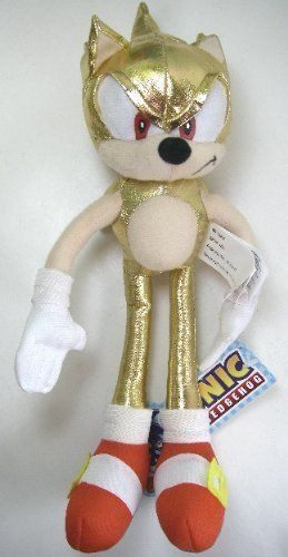 Sega Sonic the Hedgehog Plush Series Super Sonic - 15 Inches [Toy] @ niftywarehouse.com #NiftyWarehouse #Sonic #SonicTheHedgehog #Sega #VideoGames #Gaming
