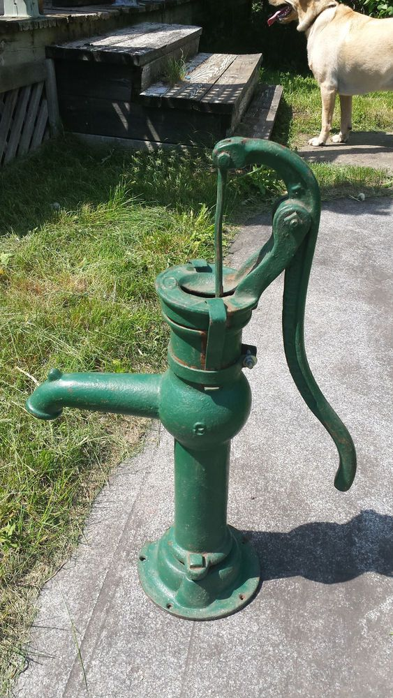 357 best old water pumps images on pinterest gardening for Garden water pump