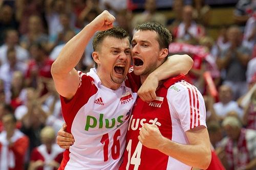 Krzysztof Ignaczak and Michal Ruciak of Poland Volleyball Team Fot. Mariusz Pałczyński / http://www.facebook.com/MariuszPalczynskiPhotography #volleyball #sportspeople