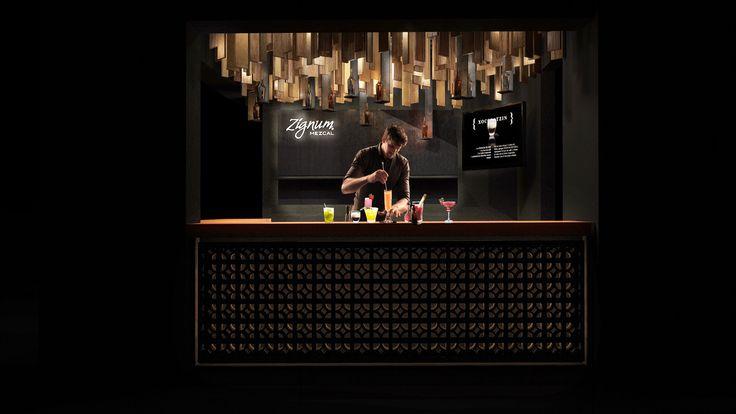 Barra Zignum.. TaCo architecture.. #bar #mezcal #zignum #design #light