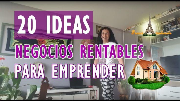 FRANCIA-20 IDEAS DE NEGOCIOS RENTABLES PARA EMPRENDER DESDE CASA | PERUA...