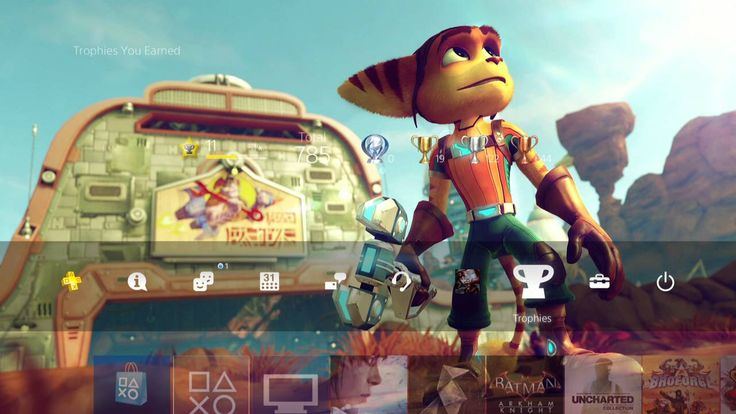 New Ratchet and Clank PS4 Theme