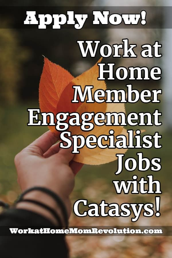 Home Based Member Engagement Specialist Jobs With Catasys