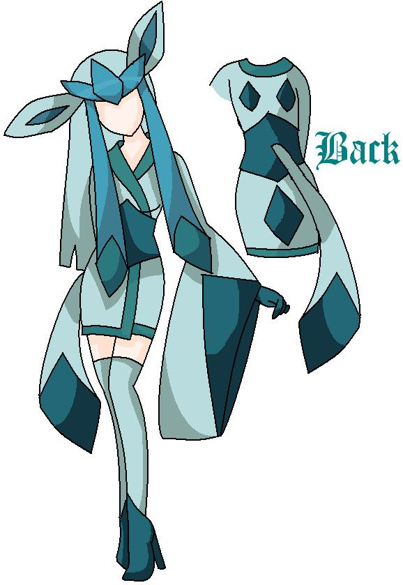 Glaceon Cosplay Design by ~UtaXNoXHaru  Would LOVE to do an Eevee evolution cos group!