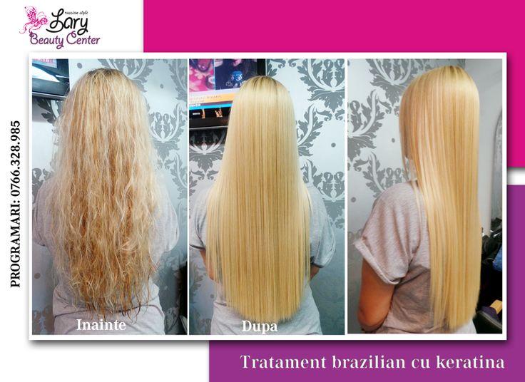 tratament brazilian cu keratina http://www.larybeautycenter.ro/