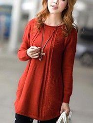 Women's Round Neck Long Sleeve Coat – MXN $ 294.06