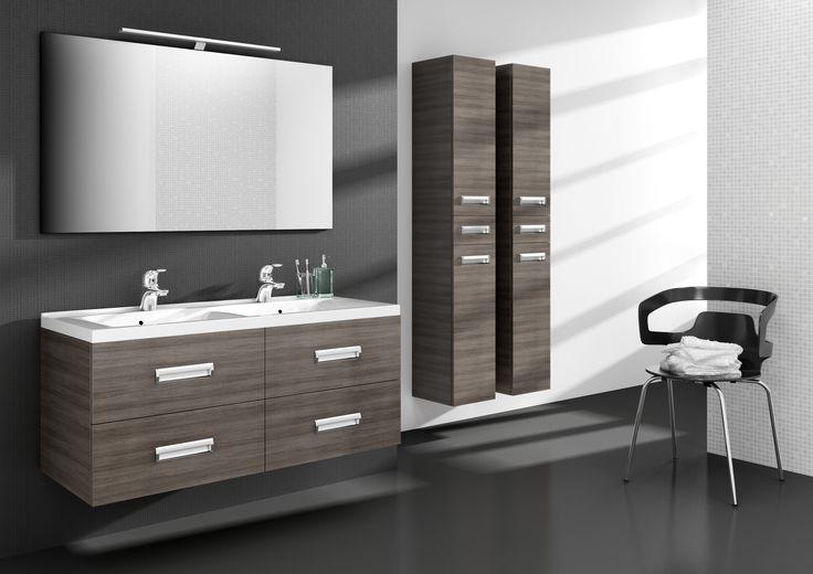 25 beste idee n over badkamer wastafel kasten op pinterest - Meubilair vormgeving van de badkamer dubbele wastafel ...