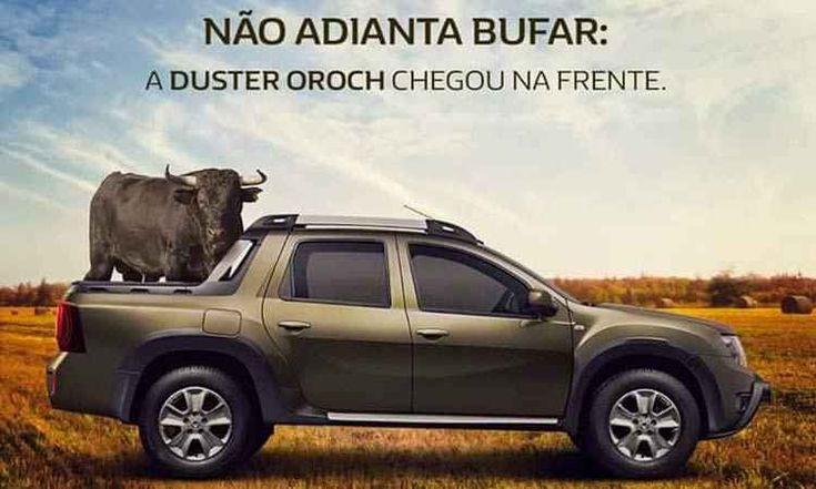 Renault provoca Fiat Toro: Duster Oroch chegou primeiro