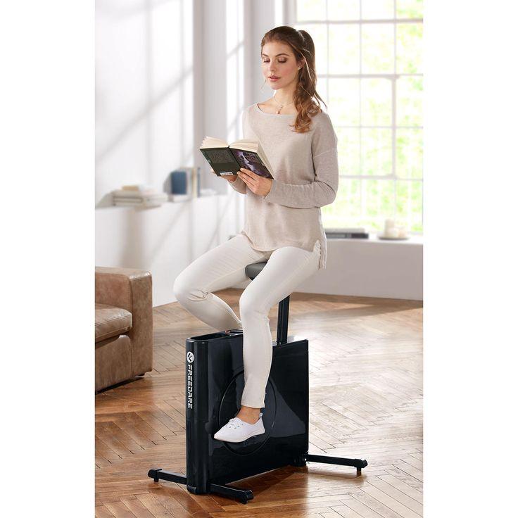 Flachdesign-Hometrainer - Der wohl stylischste (und kompakteste) Hometrainer. Steht nie im Weg. Ist dennoch im Nu trainingsbereit.