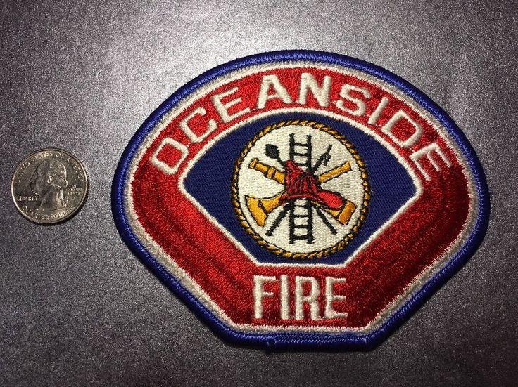 Oceanside California Fire Department Firefighter Paramedic Patch Ca