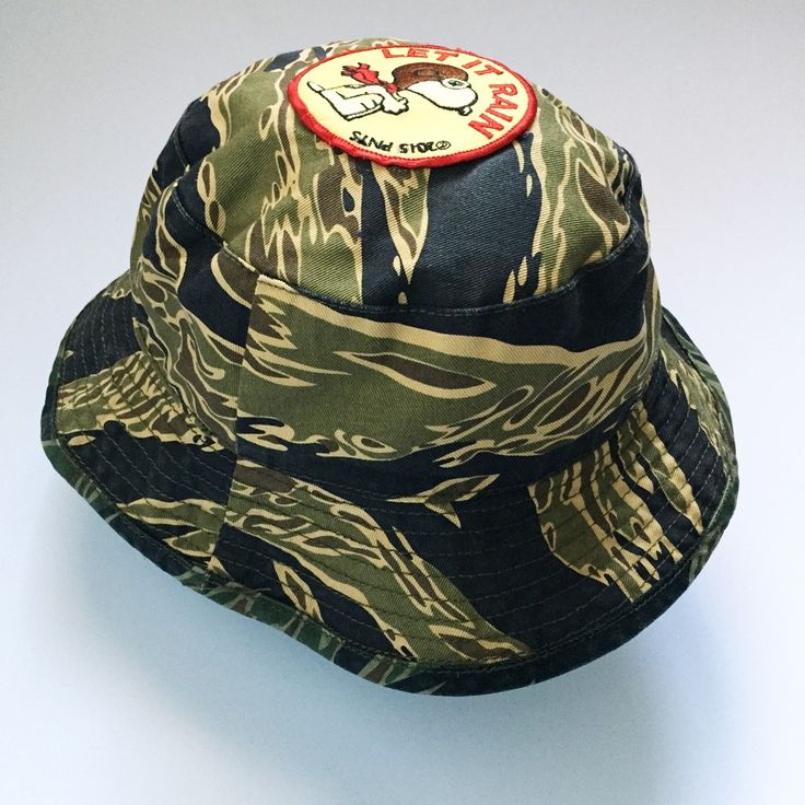 2 SIDED REVERSIBLE GOLD / SILVER TIGER BOONIE HAT - Camouflage - Store