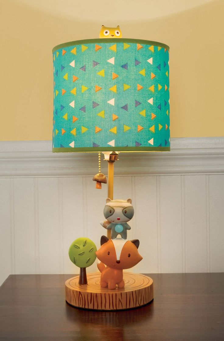 Kids Line Lamp And Base, Little Tree House