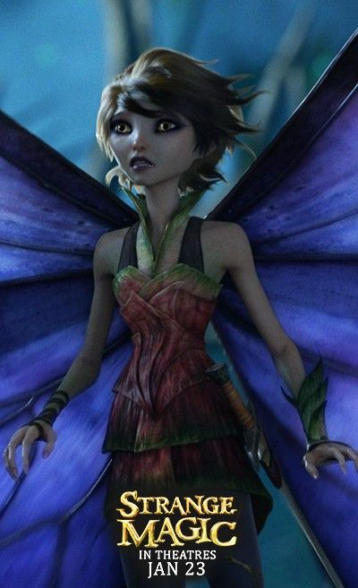 Marianne from Strange Magic - In Theatres January 23rd