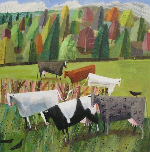 Mary Sumner - Cows