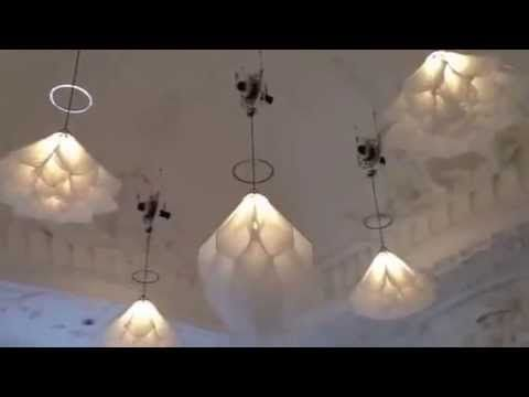 Rijksmuseum - dancing lamps - YouTube
