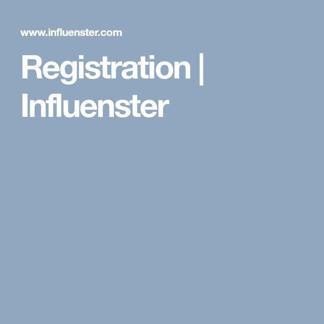 Registration | Influenster