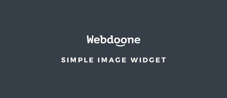 We would like you to present a new simple plugin. Just as the name, it's simple and easy to use. It allows you to place any image you want. After installation, it adds a new widget to your widgets section. You can use it in every widget area available on your website. Besides the image, …