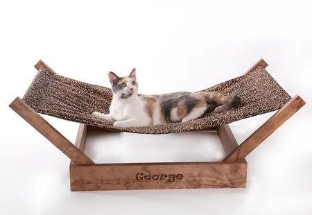 """Sleepurrz Wooden Cat and Dog Hammock"" https://sumally.com/p/47965"