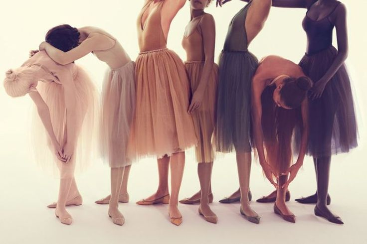 The seven shades of nude by Christian Louboutin
